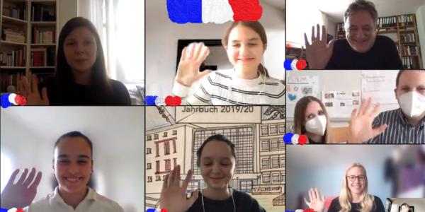 Vorlesewettbewerb Französisch/Concours de Lecture 2021
