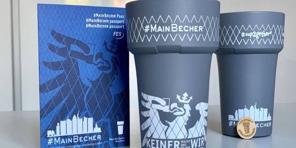 "Einführung des ""MainBechers"" an der Schillerschule"